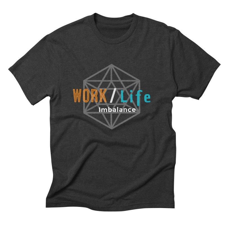 WLI Logo Merch Men's Triblend T-Shirt by Work/Life Imbalance