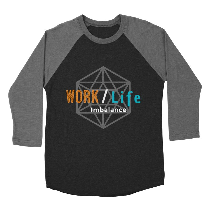 WLI Logo Merch Men's Baseball Triblend Longsleeve T-Shirt by Work/Life Imbalance