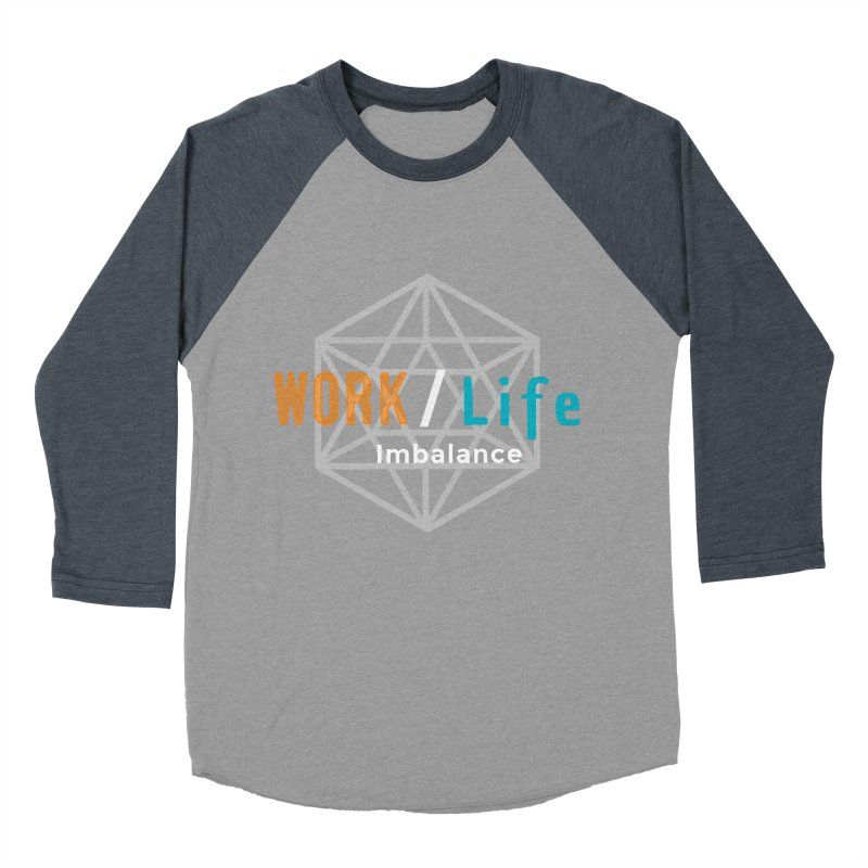 WLI Logo Merch Men's Baseball Triblend Longsleeve T-Shirt by worklifeimbalance's Artist Shop