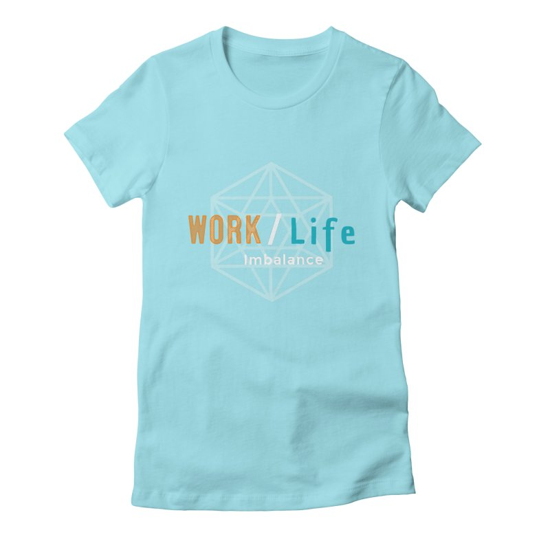 WLI Logo Merch Women's Fitted T-Shirt by Work/Life Imbalance