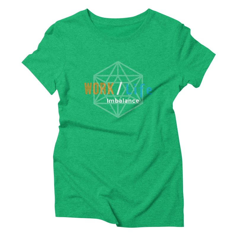 WLI Logo Merch Women's Triblend T-Shirt by Work/Life Imbalance