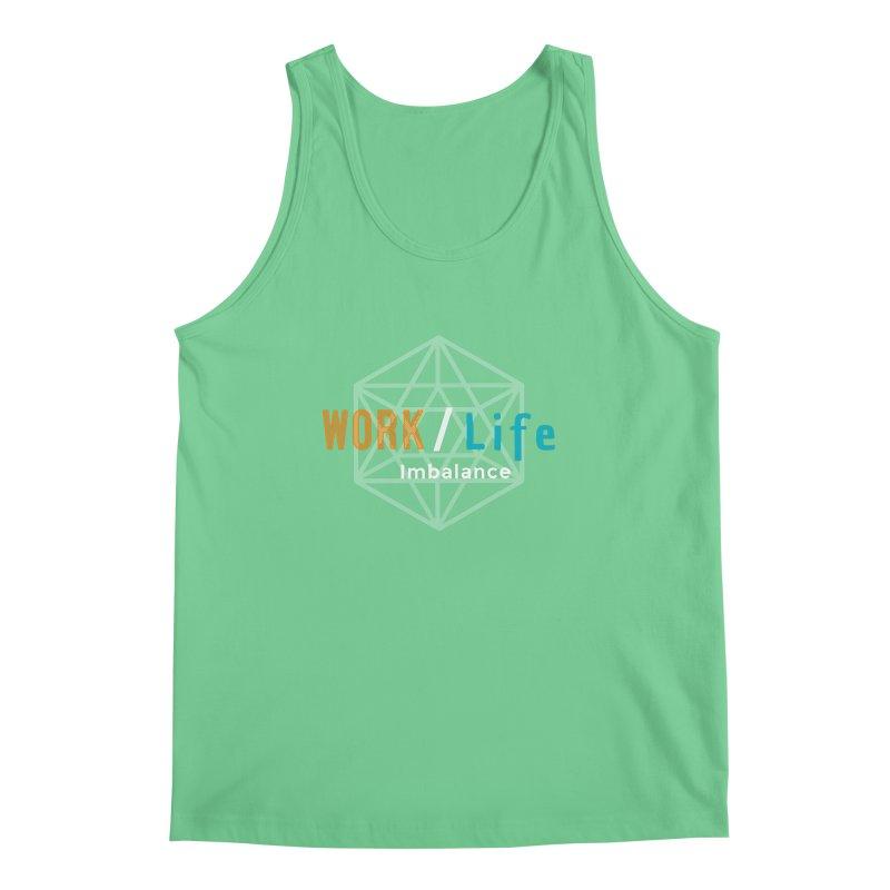 WLI Logo Merch Men's Regular Tank by Work/Life Imbalance