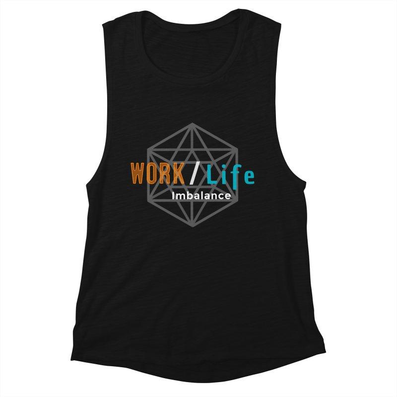 WLI Logo Merch Women's Muscle Tank by Work/Life Imbalance