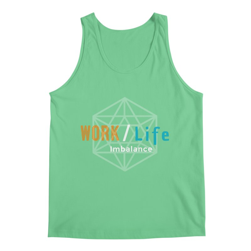 WLI Logo Merch Men's Regular Tank by Work/Life Imbalance