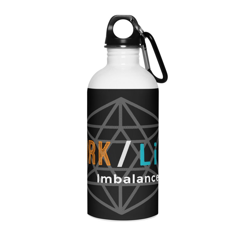 WLI Logo Merch Accessories Water Bottle by Work/Life Imbalance