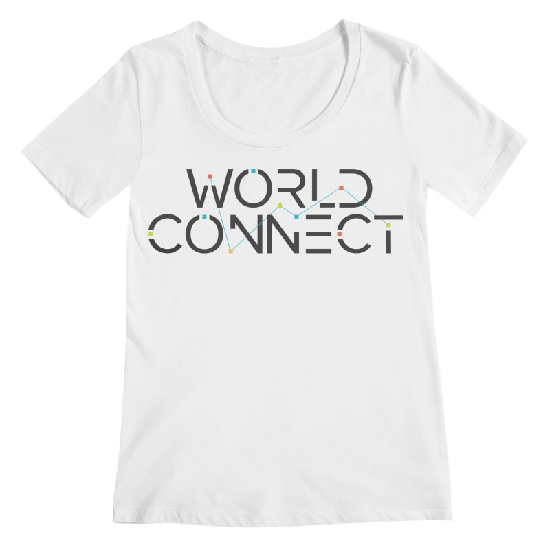 Classic Women's Regular Scoop Neck by World Connect Merchandise