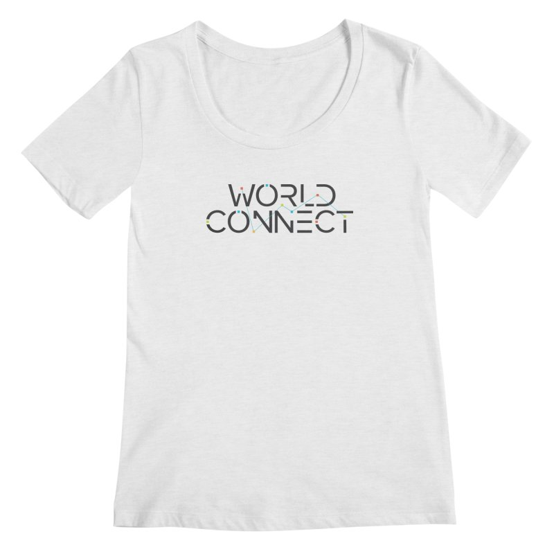 Classic Women's Regular Scoop Neck by World Connect Merchandise
