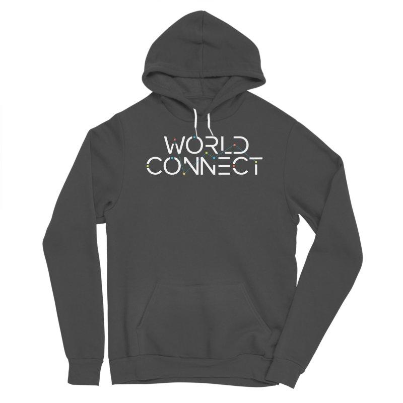 White Classic Men's Sponge Fleece Pullover Hoody by World Connect Merchandise
