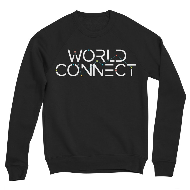 White Classic Women's Sponge Fleece Sweatshirt by World Connect Merchandise