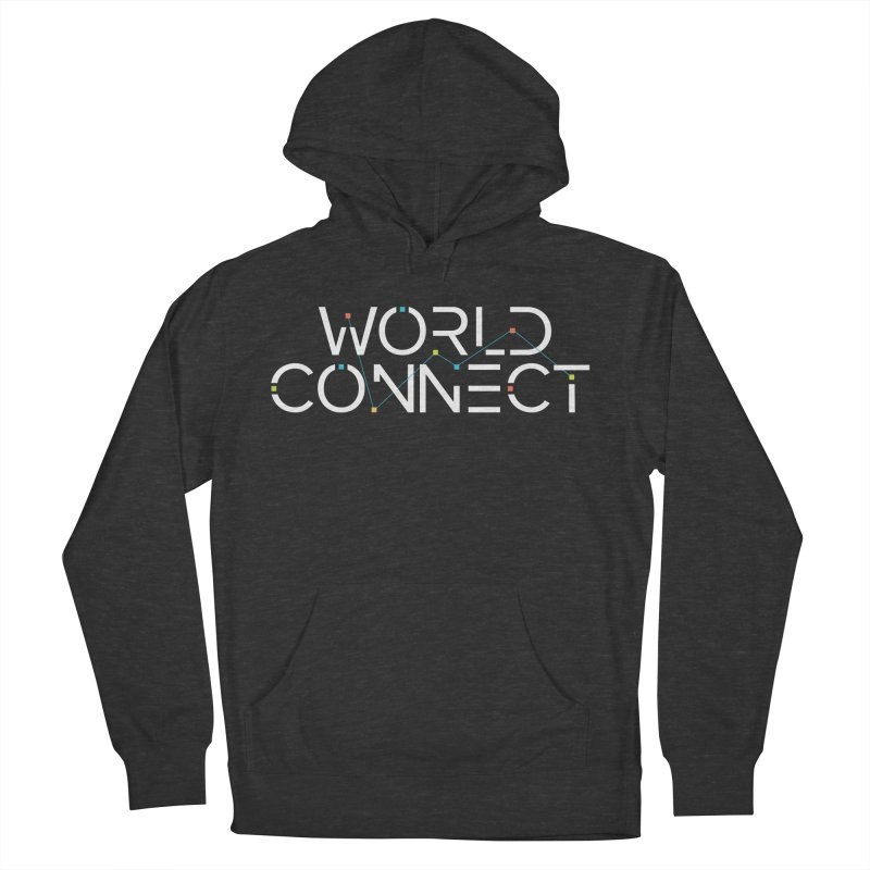 White Classic Women's French Terry Pullover Hoody by World Connect Merchandise