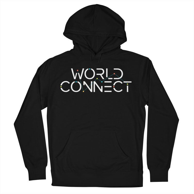 White Classic Men's French Terry Pullover Hoody by World Connect Merchandise
