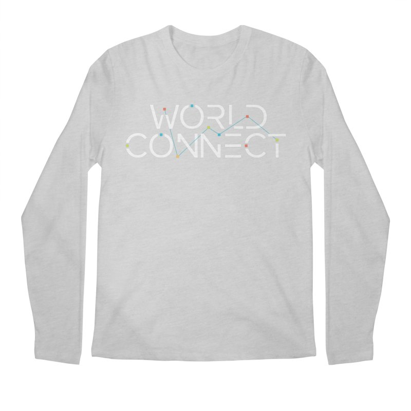White Classic Men's Longsleeve T-Shirt by World Connect Merchandise