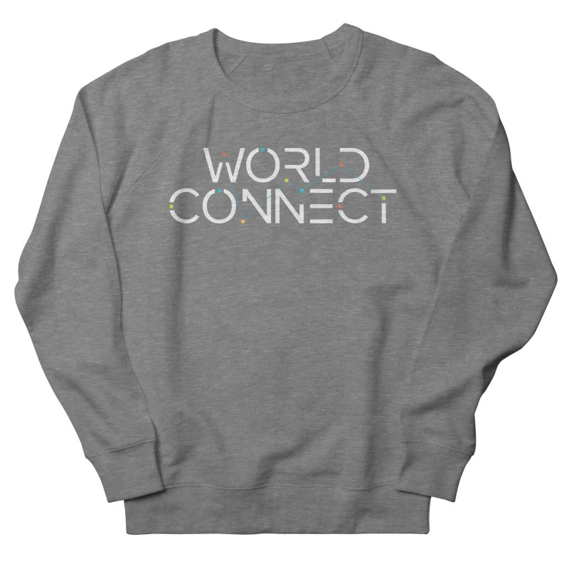 White Classic Men's French Terry Sweatshirt by World Connect Merchandise