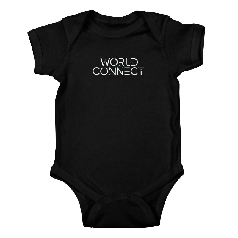 White Classic Kids Baby Bodysuit by World Connect Merchandise
