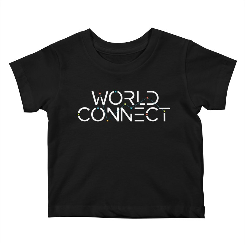 White Classic Kids Baby T-Shirt by World Connect Merchandise