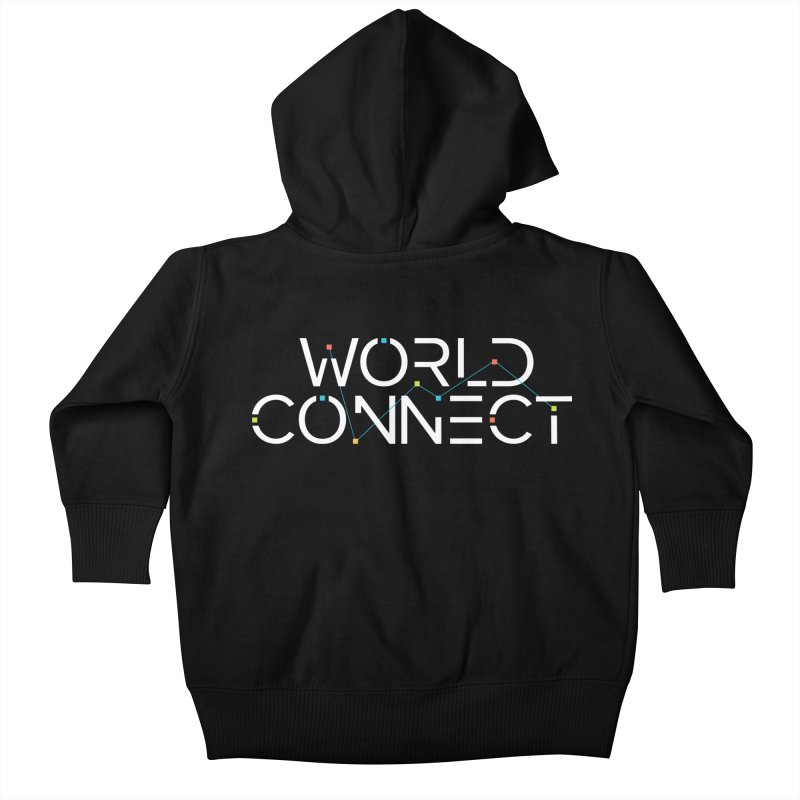 White Classic Kids Baby Zip-Up Hoody by World Connect Merchandise