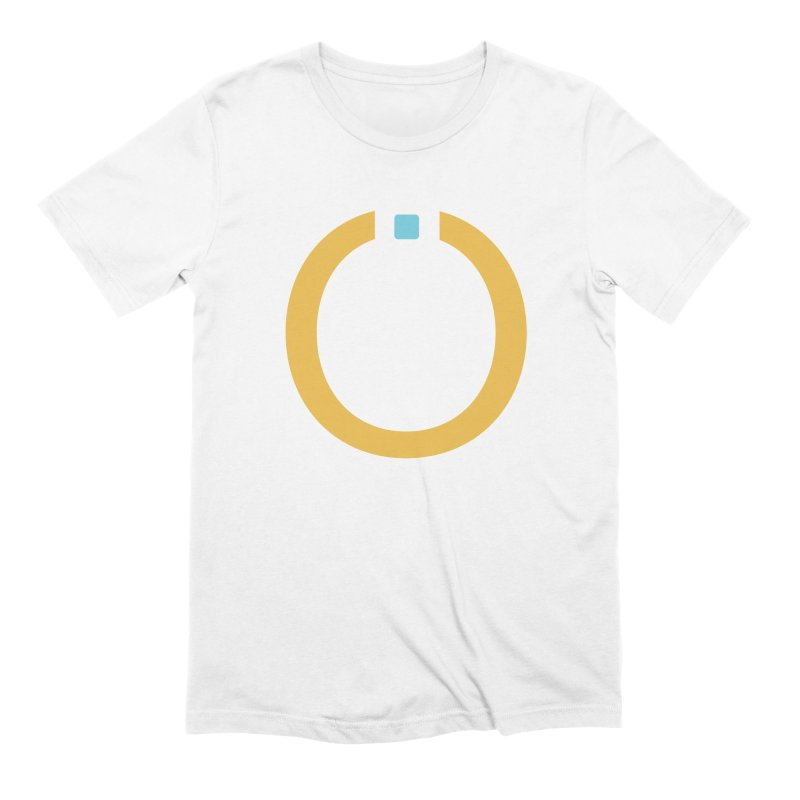 Yellow Pictogram Men's Extra Soft T-Shirt by World Connect Merchandise