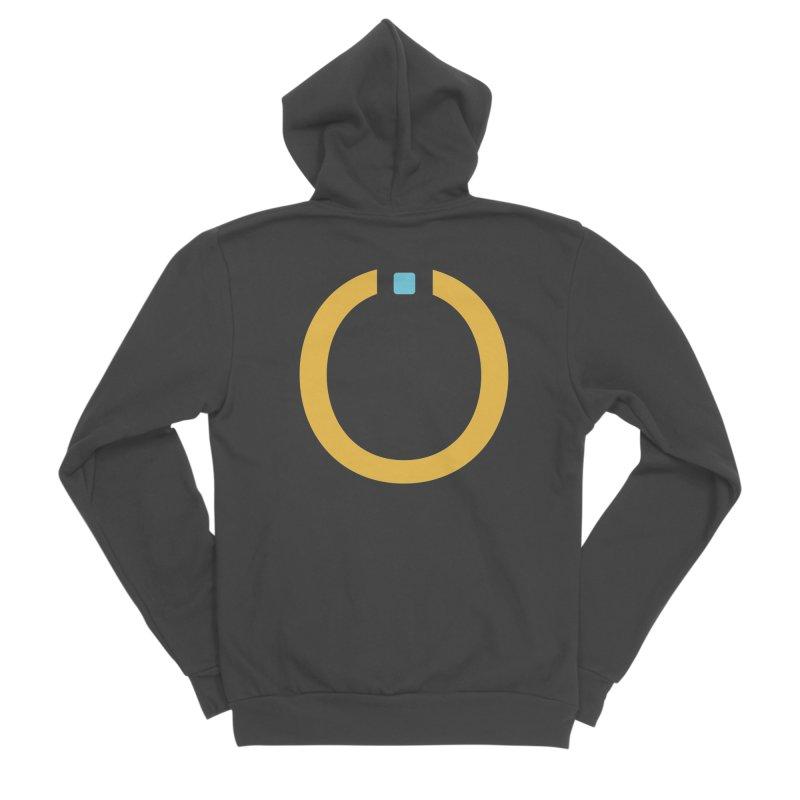 Yellow Pictogram Women's Zip-Up Hoody by World Connect Merchandise