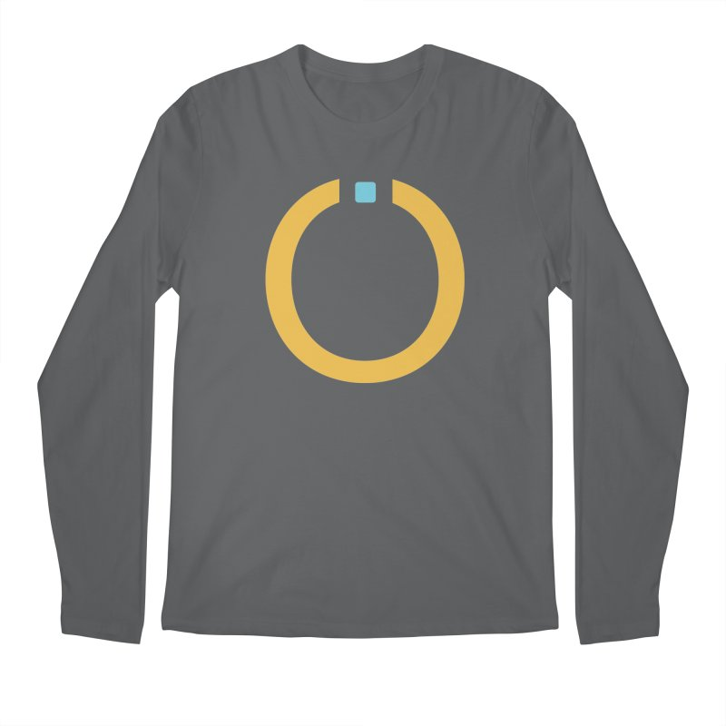 Yellow Pictogram Men's Longsleeve T-Shirt by World Connect Merchandise