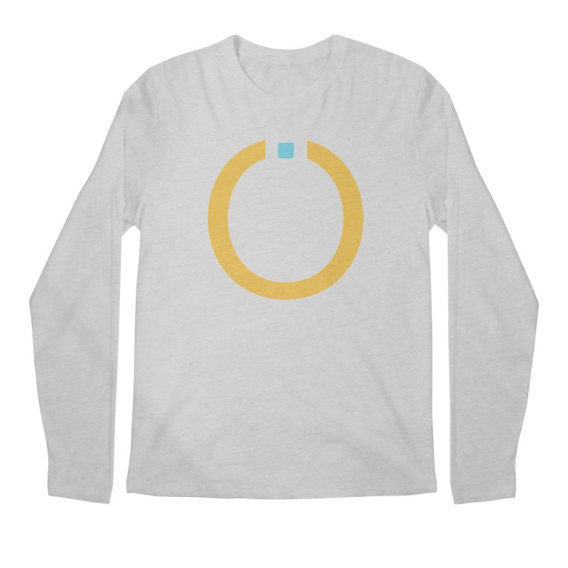 Yellow Pictogram Men's Regular Longsleeve T-Shirt by World Connect Merchandise