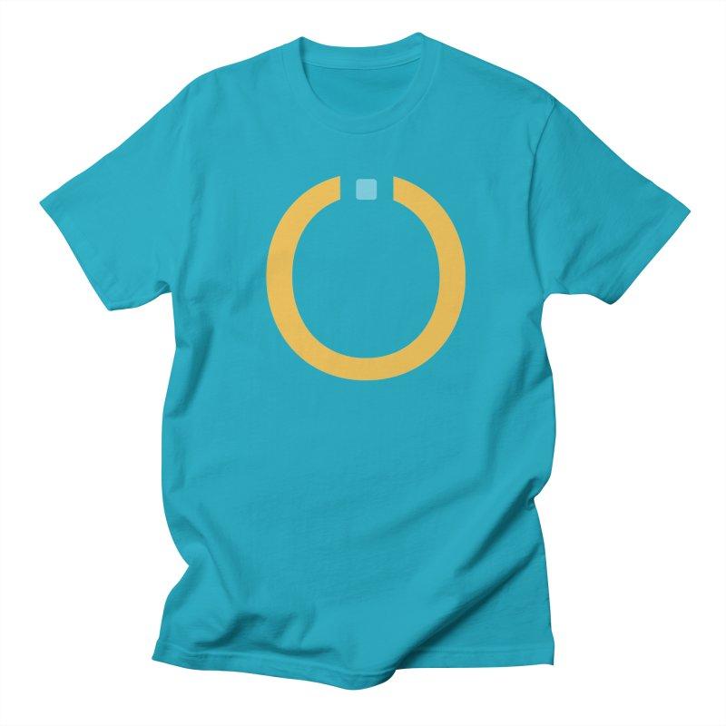 Yellow Pictogram Men's Regular T-Shirt by World Connect Merchandise