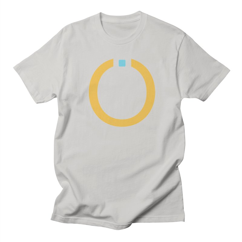 Yellow Pictogram Men's T-Shirt by World Connect Merchandise
