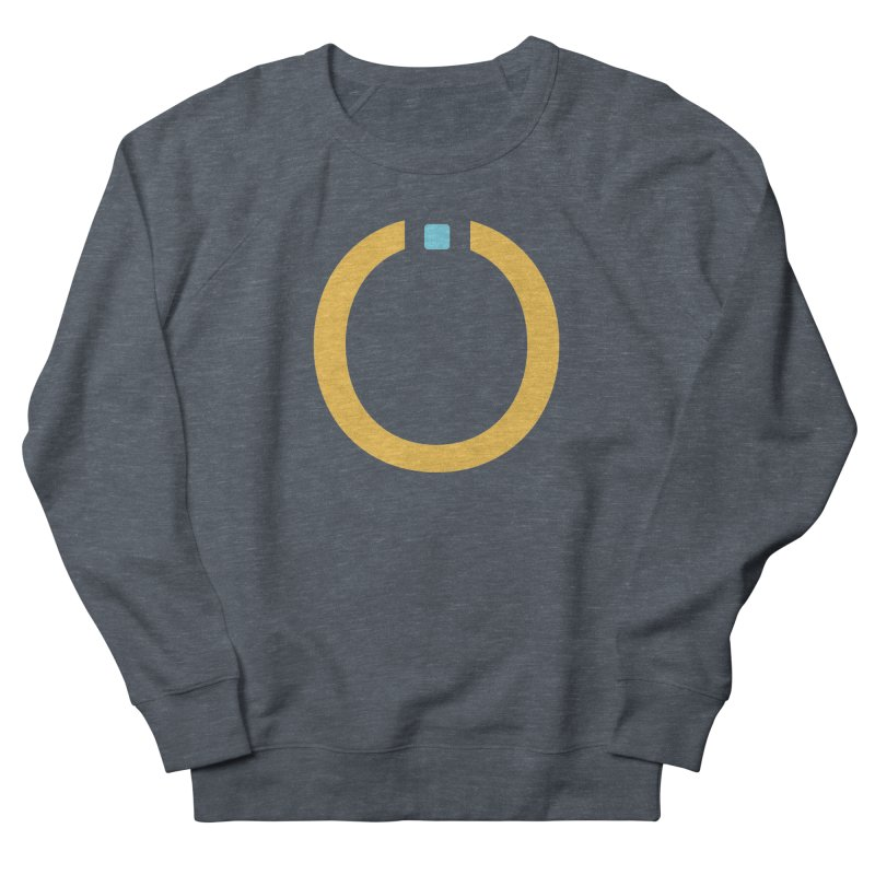 Yellow Pictogram Men's French Terry Sweatshirt by World Connect Merchandise