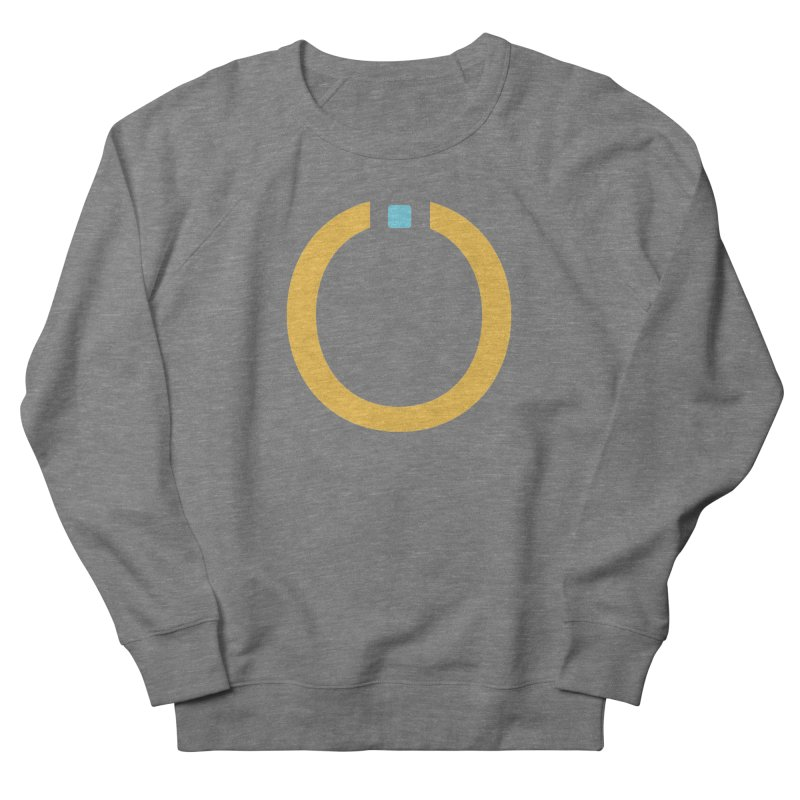 Yellow Pictogram Men's Sweatshirt by World Connect Merchandise