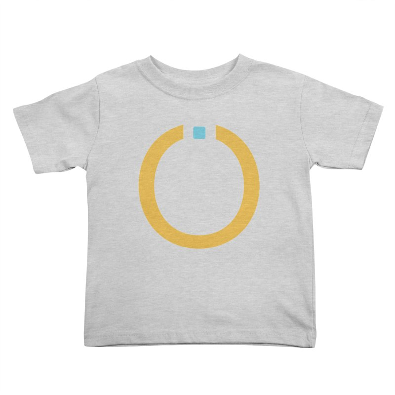 Yellow Pictogram Kids Toddler T-Shirt by World Connect Merchandise