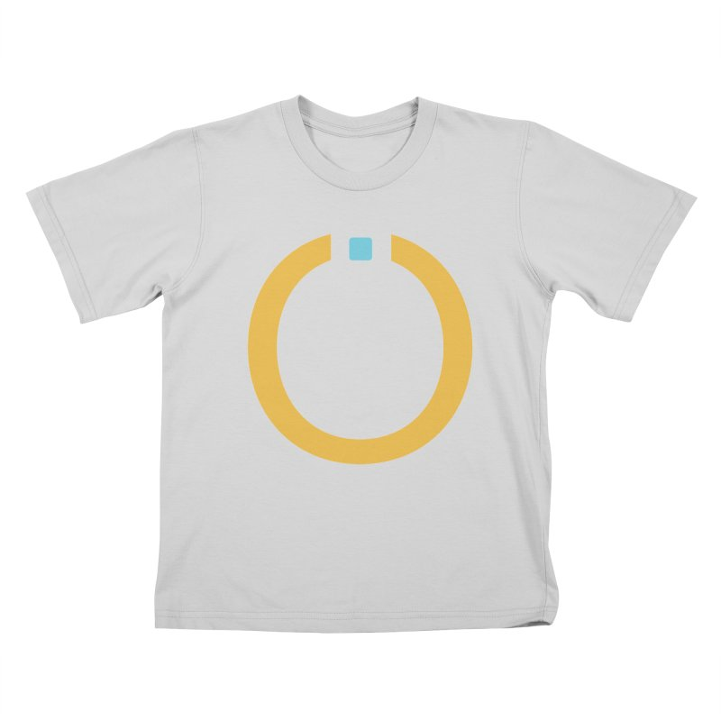 Yellow Pictogram Kids T-Shirt by World Connect Merchandise