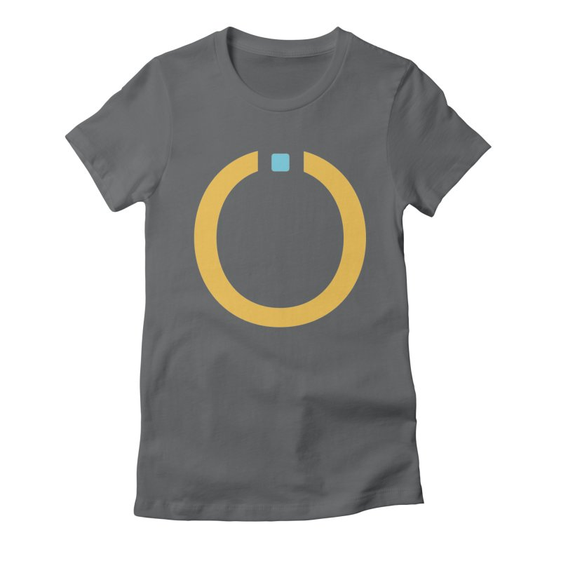 Yellow Pictogram Women's T-Shirt by World Connect Merchandise