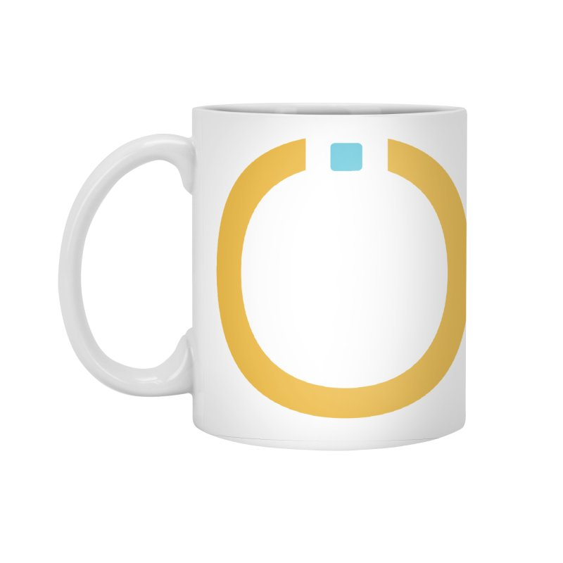 Yellow Pictogram Accessories Mug by World Connect Merchandise