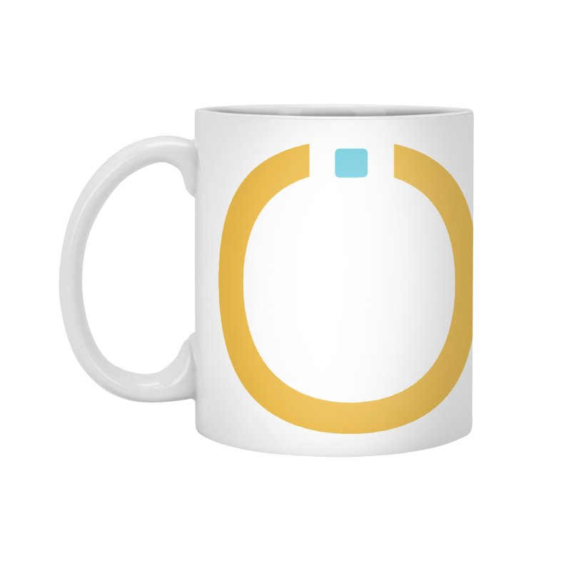 Yellow Pictogram Accessories Standard Mug by World Connect Merchandise