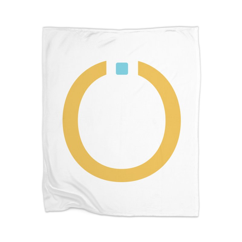Yellow Pictogram Home Blanket by World Connect Merchandise