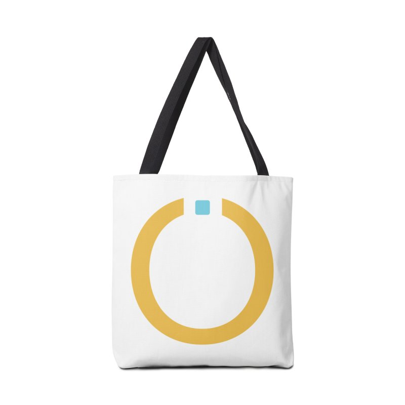 Yellow Pictogram Accessories Bag by World Connect Merchandise