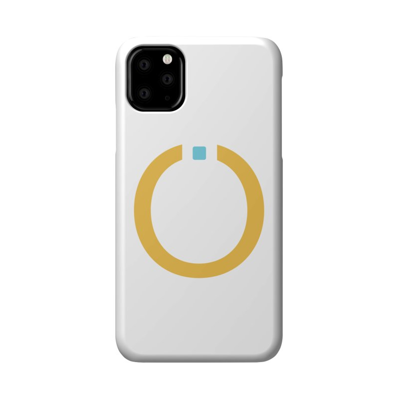 Yellow Pictogram Accessories Phone Case by World Connect Merchandise