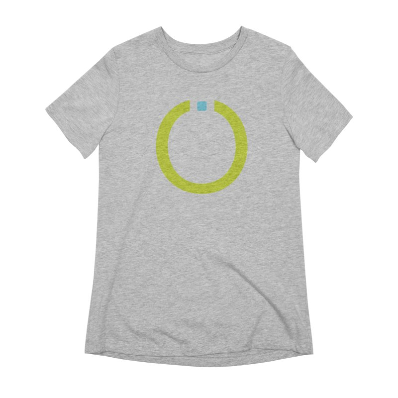 Green Pictogram Women's Extra Soft T-Shirt by World Connect Merchandise