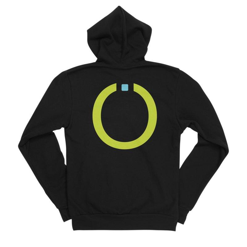 Green Pictogram Women's Sponge Fleece Zip-Up Hoody by World Connect Merchandise
