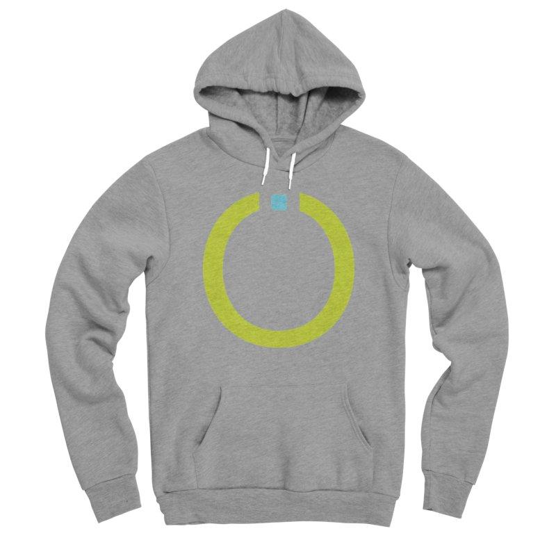 Green Pictogram Men's Sponge Fleece Pullover Hoody by World Connect Merchandise