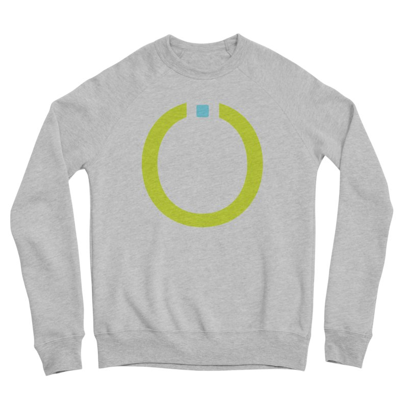 Green Pictogram Women's Sponge Fleece Sweatshirt by World Connect Merchandise