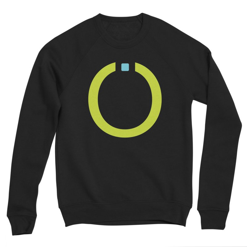 Green Pictogram Men's Sponge Fleece Sweatshirt by World Connect Merchandise