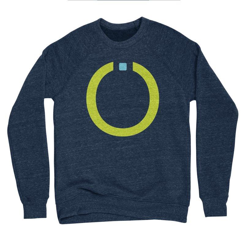 Green Pictogram Men's Sponge Fleece Sweatshirt by World Connect Merchandise