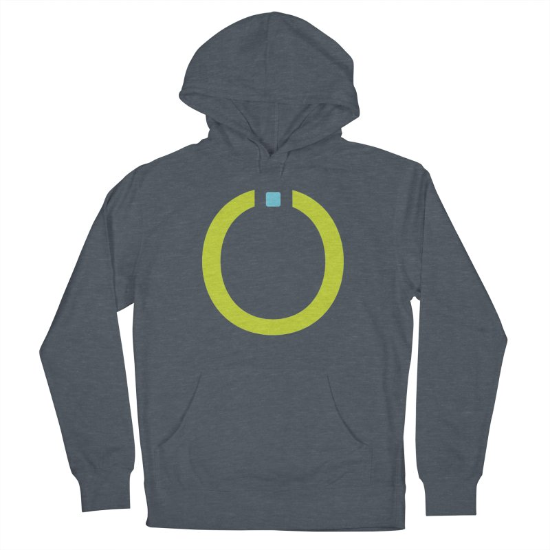 Green Pictogram Men's Pullover Hoody by World Connect Merchandise