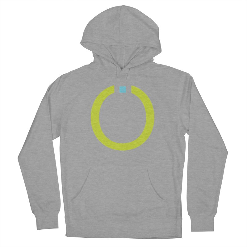 Green Pictogram Men's French Terry Pullover Hoody by World Connect Merchandise