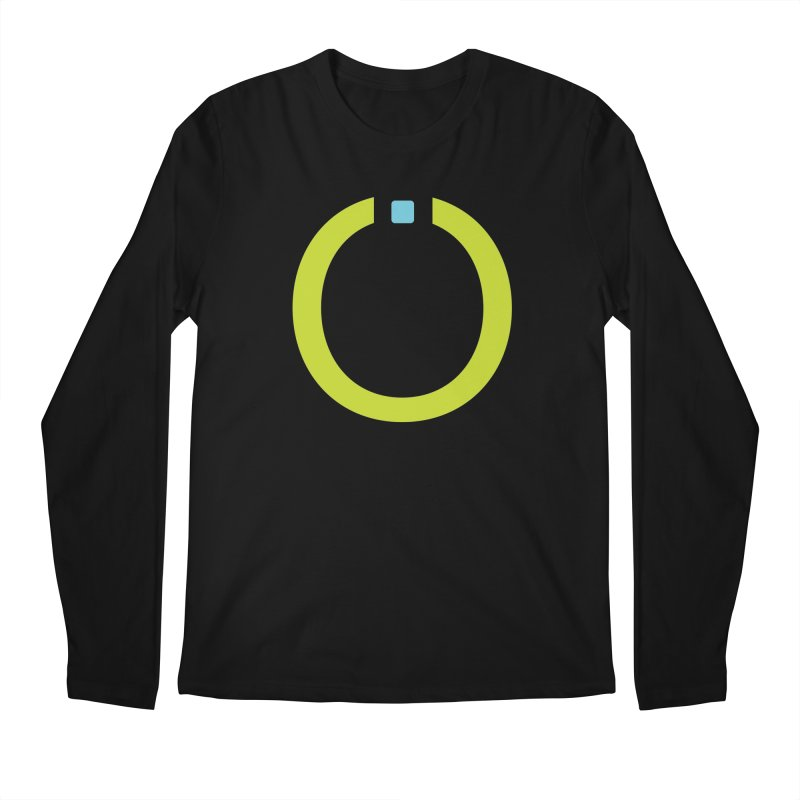 Green Pictogram Men's Longsleeve T-Shirt by World Connect Merchandise