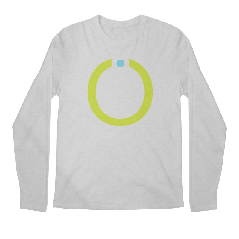 Green Pictogram Men's Longsleeve T-Shirt by World Connect Merchandise