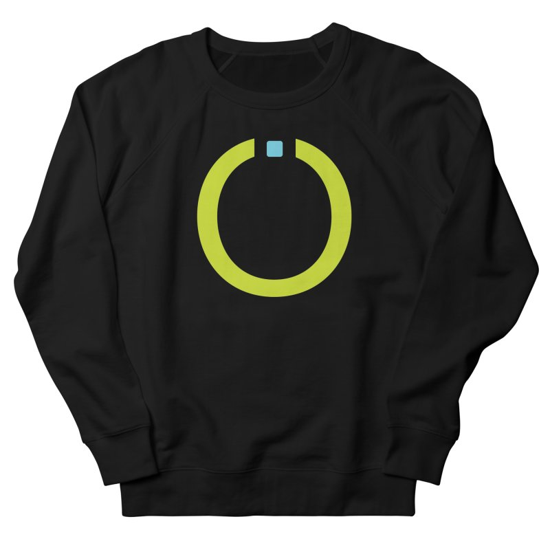 Green Pictogram Men's French Terry Sweatshirt by World Connect Merchandise