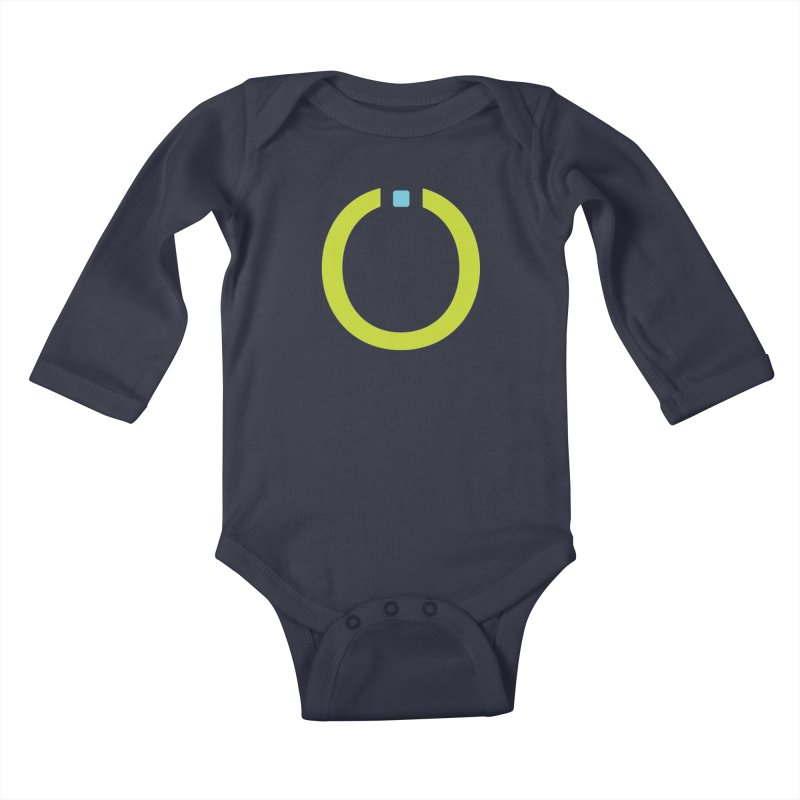 Green Pictogram Kids Baby Longsleeve Bodysuit by World Connect Merchandise