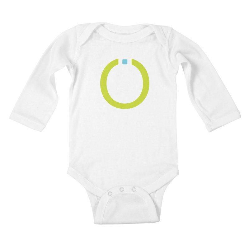 Green Pictogram Kids Baby Longsleeve Bodysuit by World Connect Merchandise