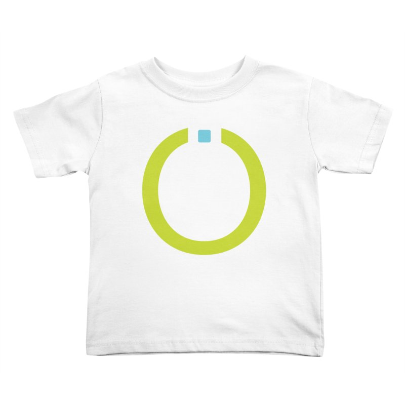 Green Pictogram Kids Toddler T-Shirt by World Connect Merchandise